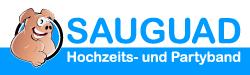 sauguad-partyband.de Logo